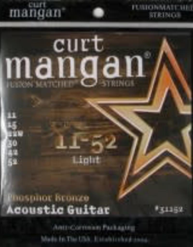 Curt Mangan Curt Mangan Phospor bronze 011-052 light