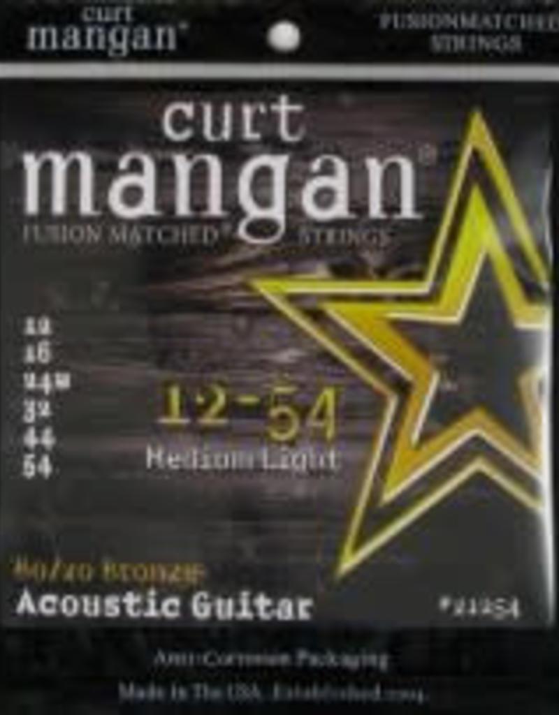 Curt Mangan Curt Mangan 80/20 bronze 012-054 medium light