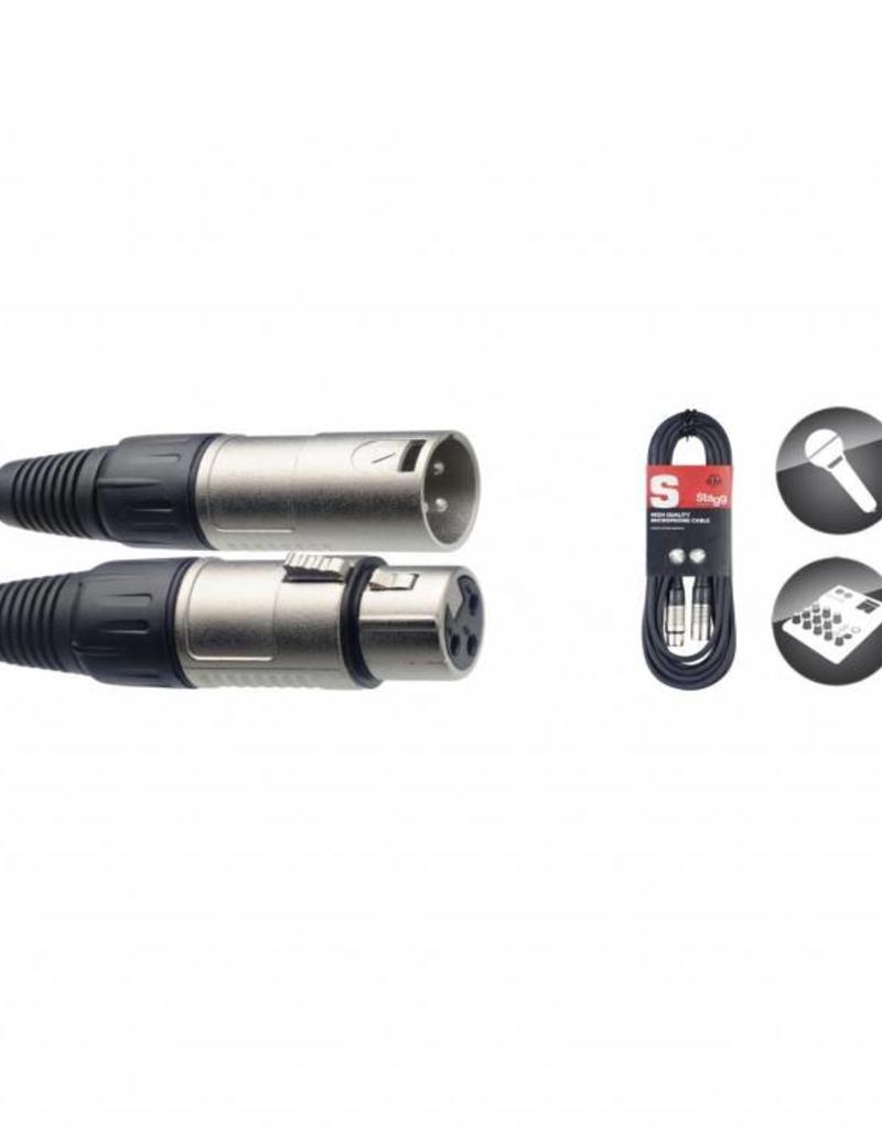 Microfoonkabel, XLR/XLR (m/v), 3 meter