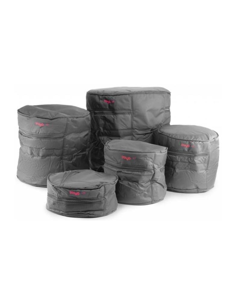 Hoezenset voor drums  20-10 -12 -14- 14s