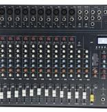 Studiomaster Studiomaster Club XS 16+ compacte mengtafel, 12 kanalen, 16 ingangen