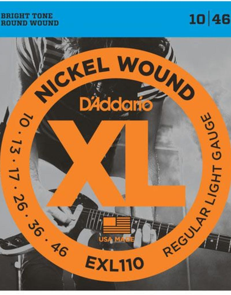 D'Addario snaren set 010-046 electr gitaar EXL 110
