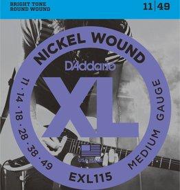 D'Addario snaren set 11- 49 electr gitaar Exl 115