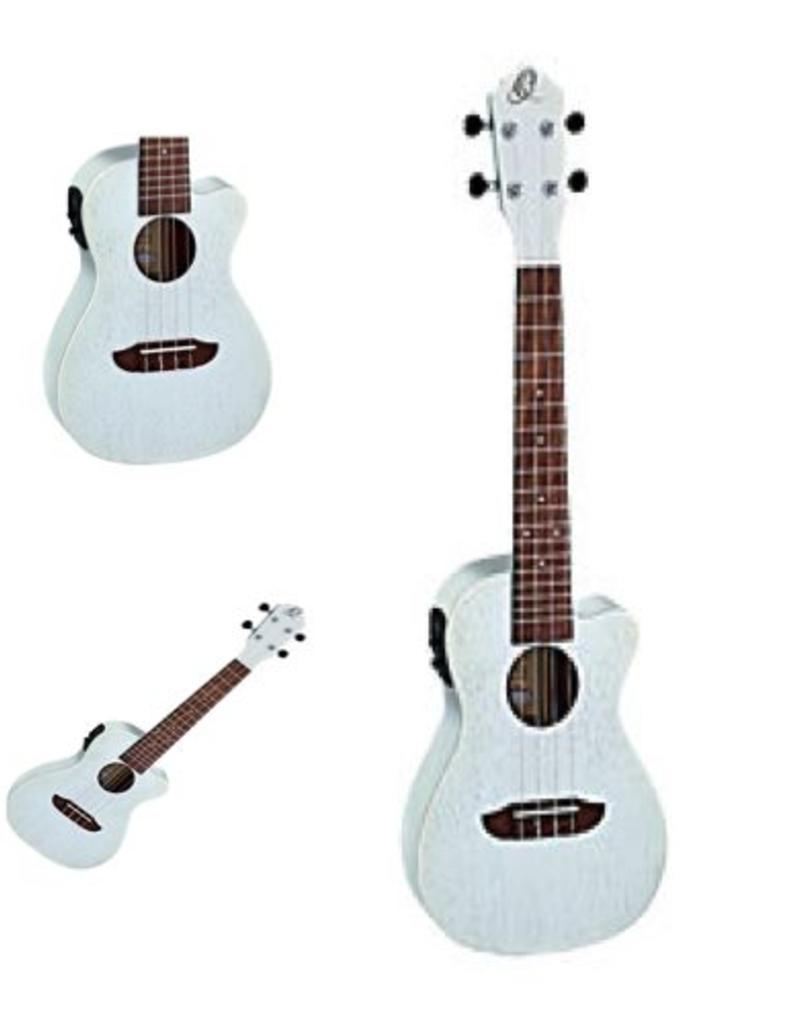 Ortega Ortega  Silver Satin Concert ukulele RUSILVER - CE