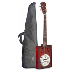 James Neligan JN Cigar box guitar resonator