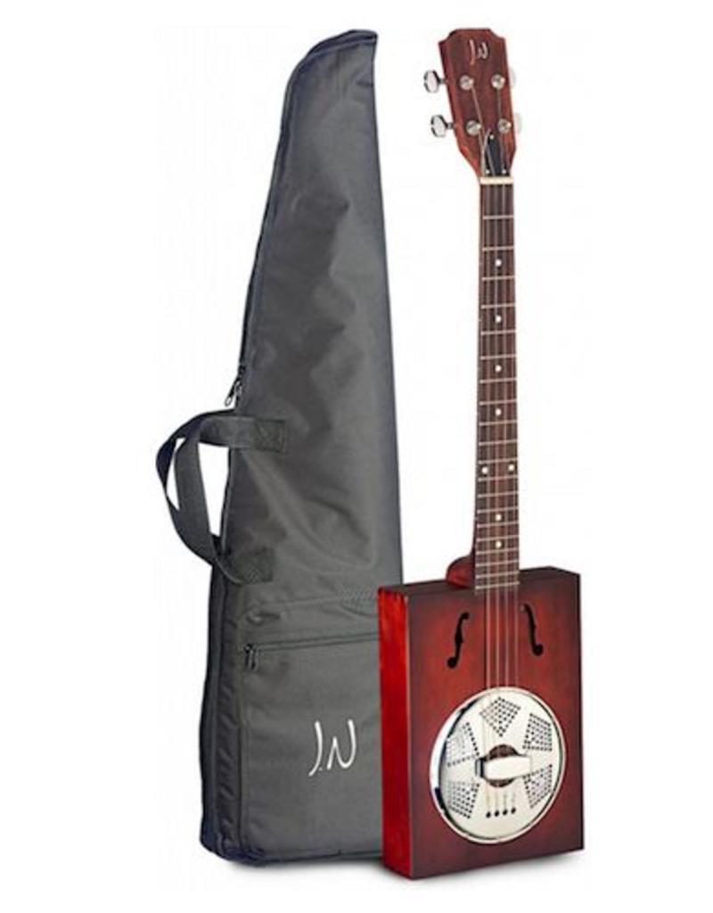 James Neligan JN Cigar box guitar resonator