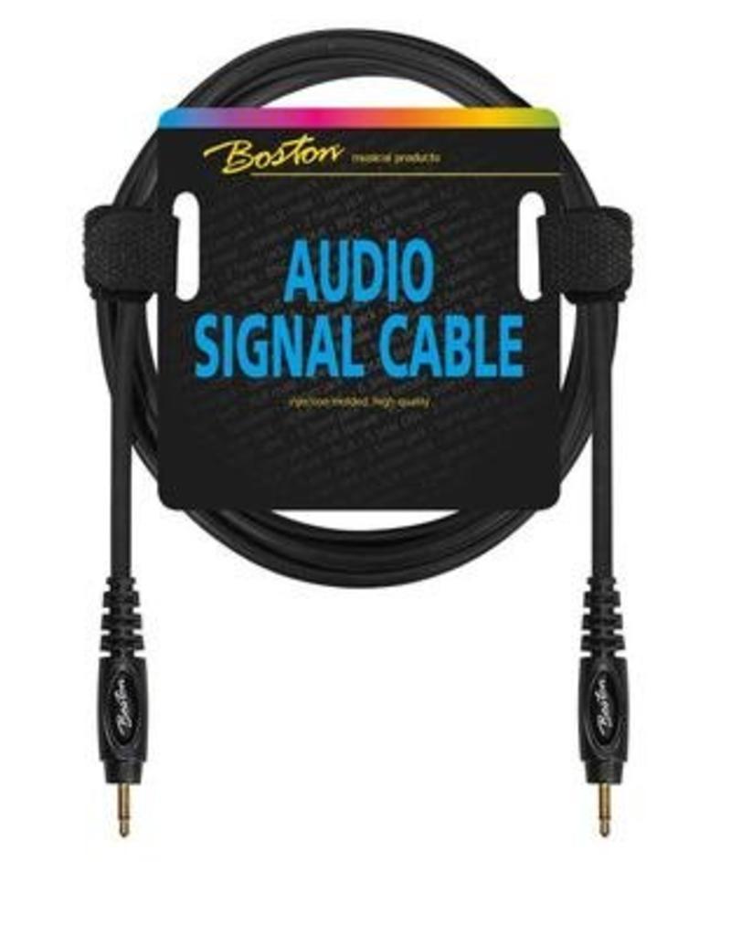 Boston Audio signaalkabel, 3.5mm jack mono naar 3.5mm jack mono, 1.5 meter