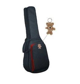 SMS Luxe hoes voor klassieke 3/4 gitaar 15mm voering met Sommy de Beer sleutelhanger