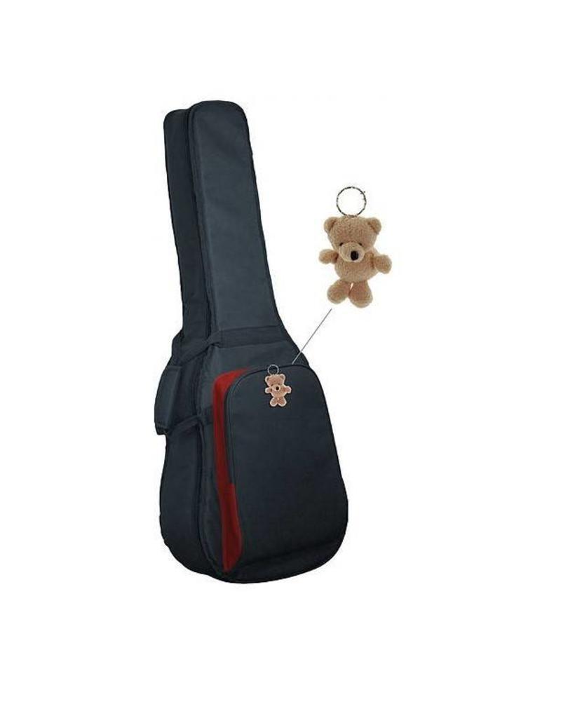 SMS hoes luxe  voor klassieke 3/4 gitaar 15mm voering met Sommy de Beer sleutelhanger