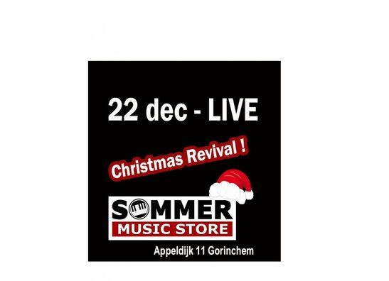 22 December Christmas Revival LIVE met Nikita Pellencau en Family