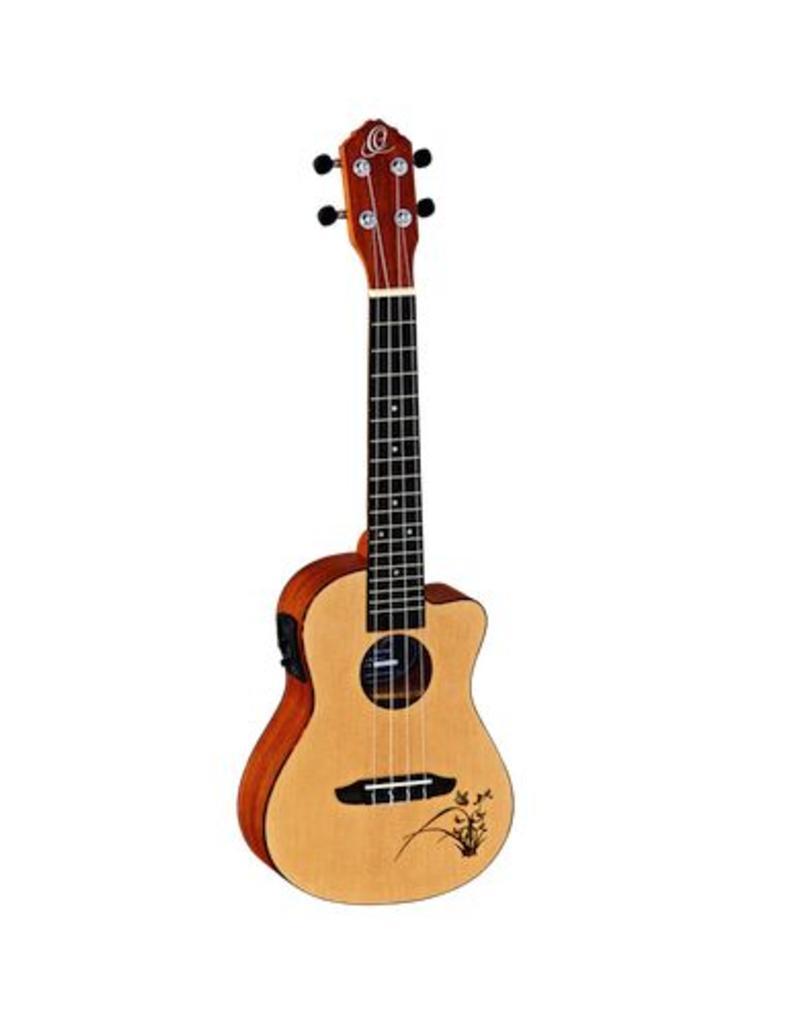 Ortega Ortega RU5CE-CC Concert ukulele met element