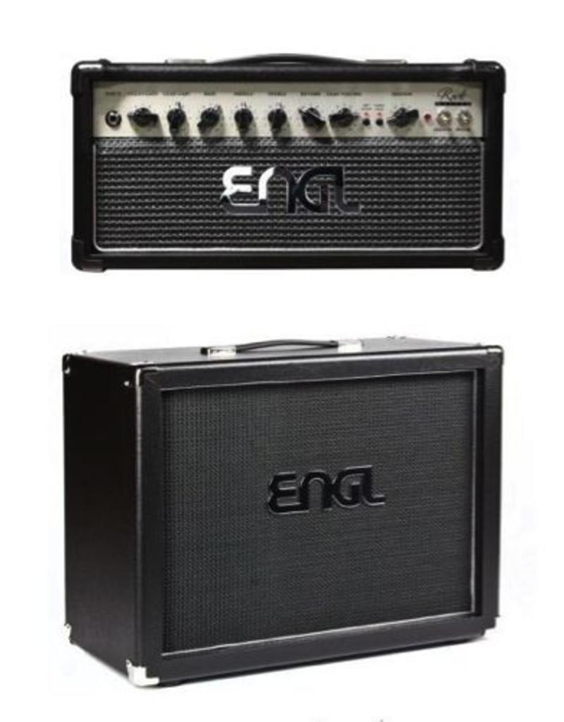 Engl ENGL E307 RockMaster 20 Head buizen gitaarversterker top met 112 Pro Cabinet Neo Creamback