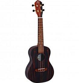 Ortega RUEB- CC Concert ukulele Ebony wood incl gigbag