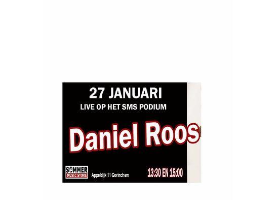 27 Januari 2019 - Daniel Roos  - live op het SMS podium