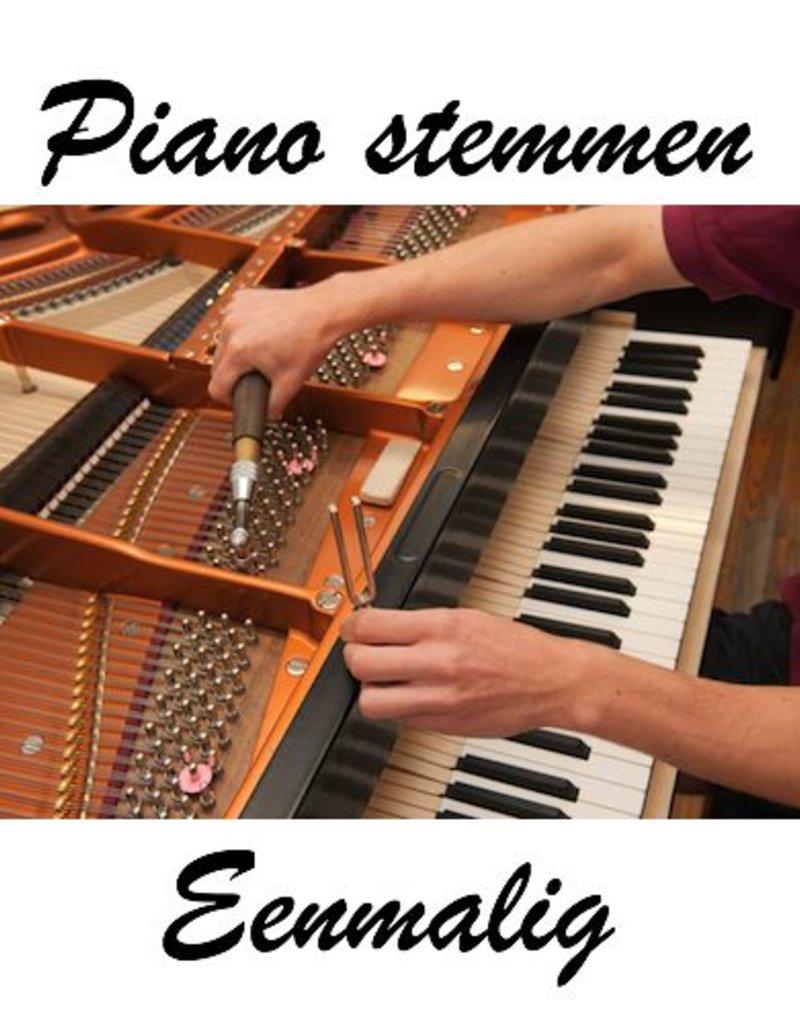Stemmen Piano/Vleugel eenmalig