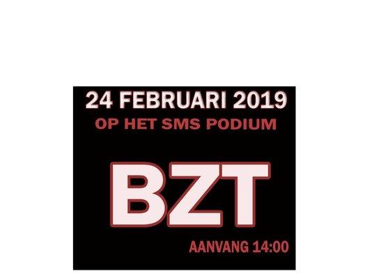24 Februari 2019 - BZT - live op het SMS podium