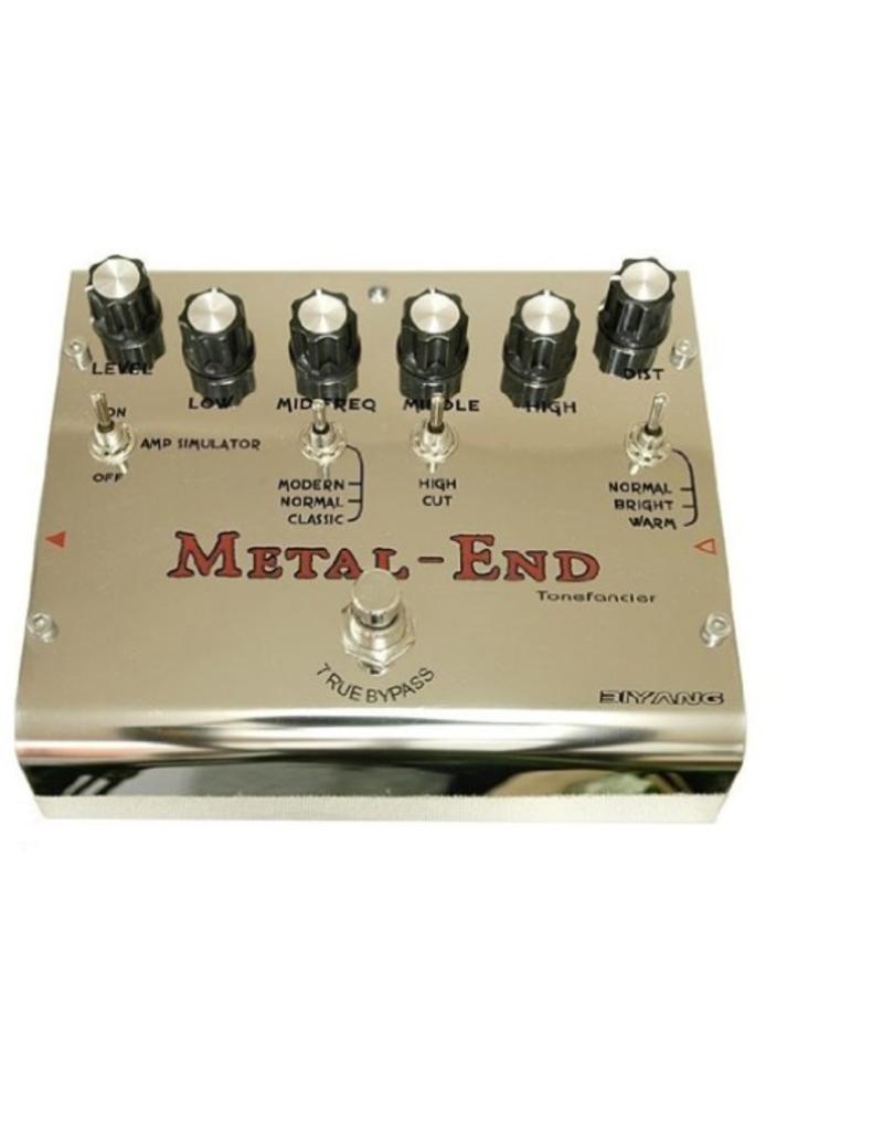 Biyang Biyang effectpedaal Metal End Pro