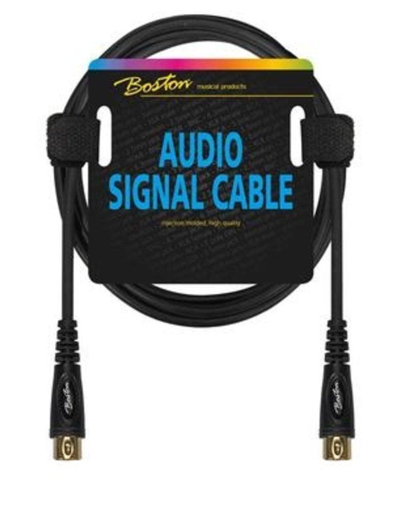 Boston Midi kabel, 5 polig DIN naar 5 polig DIN, 0.30 meter