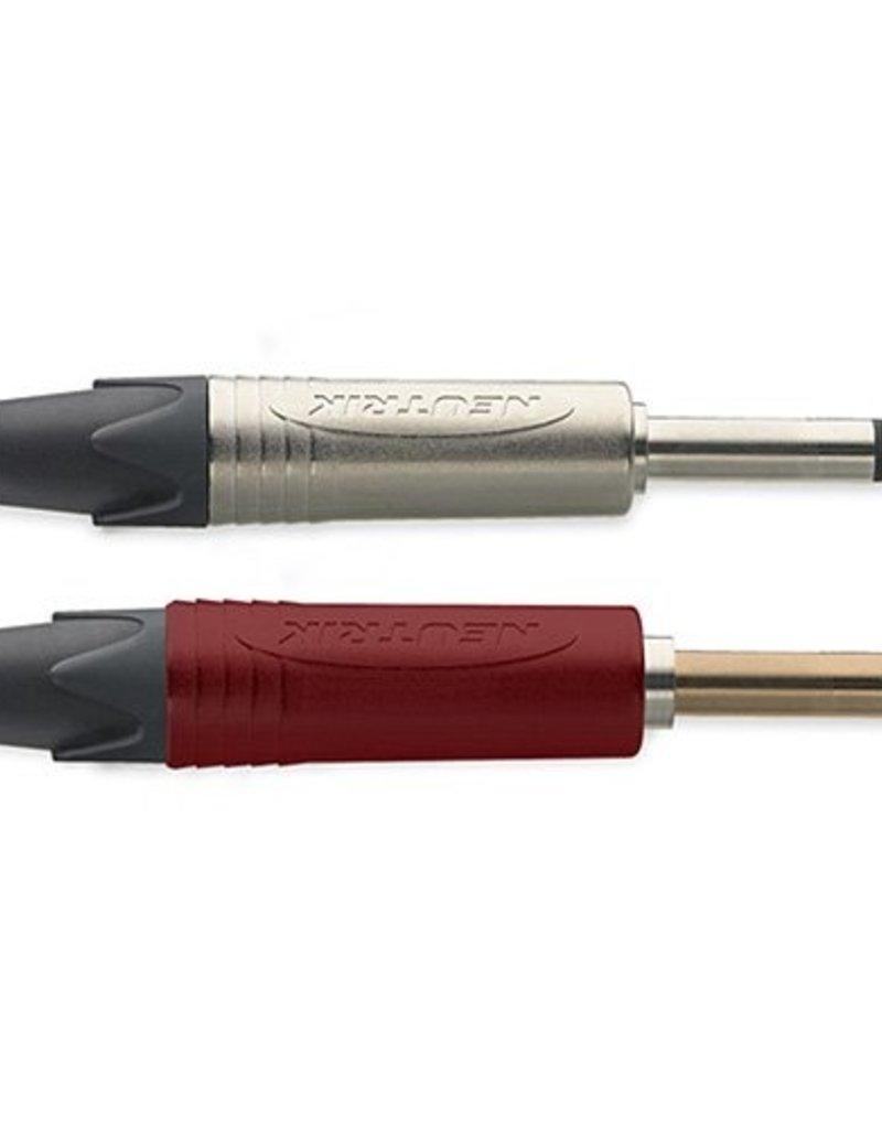 Instrument kabel high performance met neutrik silent connector
