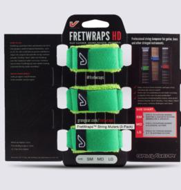 Gruvgear Gruvgear Fretwrap 3 pack green Small