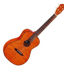 Ortega Ortega Baritone ukulele RUK14FMH flamed mahogany incl. hoes