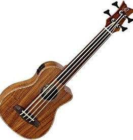 Ortega Ortega Bas ukulele Full Acacia incl gevoerde hoes