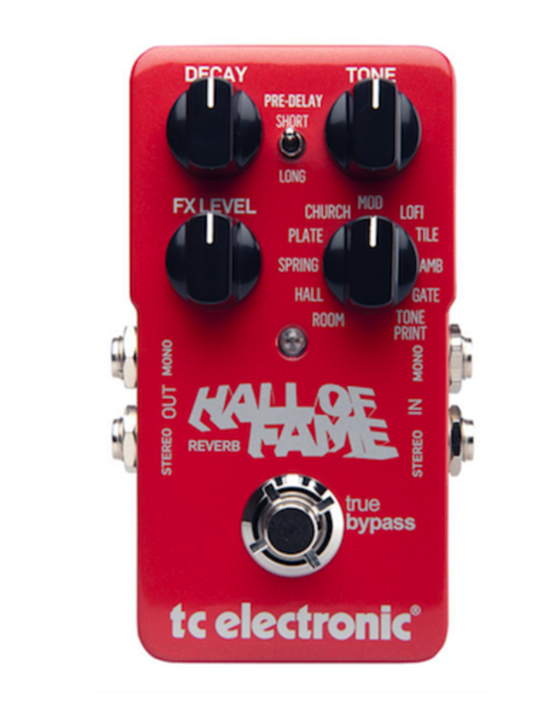 Tc Electronics TC Electronic Hall Of Fame 2 Reverb effectpedaal