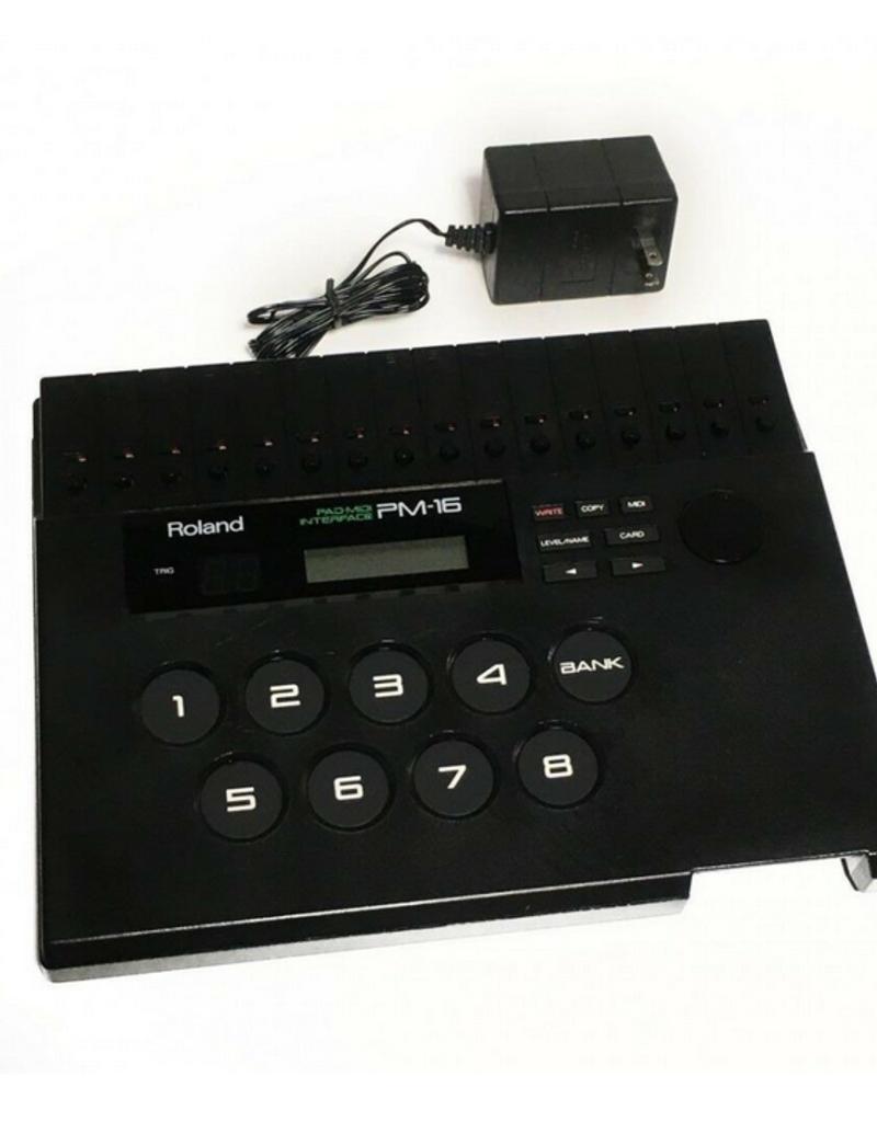 Roland Roland Pm-16 Drum Pad Midi Interface | Occasion