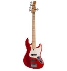 Sire Marcus Miller V7S5 Swamp Ash Bright Metallic Red