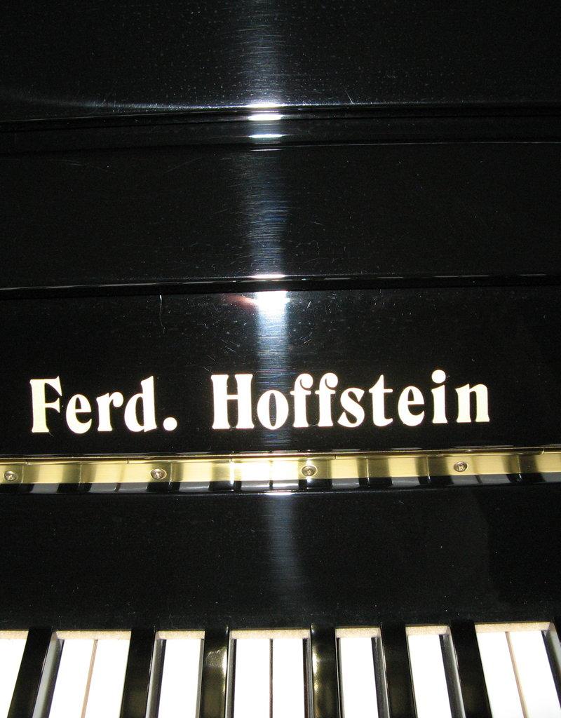 Ferd. Hoffstein piano hoogglans zwart | Occasion