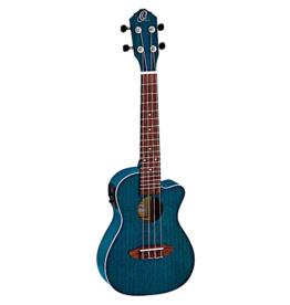 Ortega Ortega Ocean BLUE concert ukulele RUEOCEAN CE met element