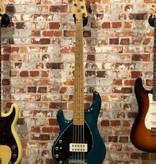 Musicman Musicman USA Stingray 5 string green incl. case (LINKSHANDIG) | Occasion