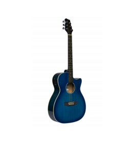 Stagg SA35 ACE blauw met element