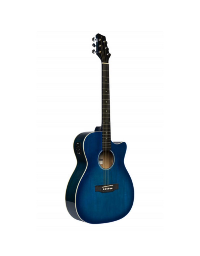 Stagg SA35 blauw met element