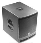 Studiomaster Studiomaster actieve luidsprekerset, 1x200w, 2x100w