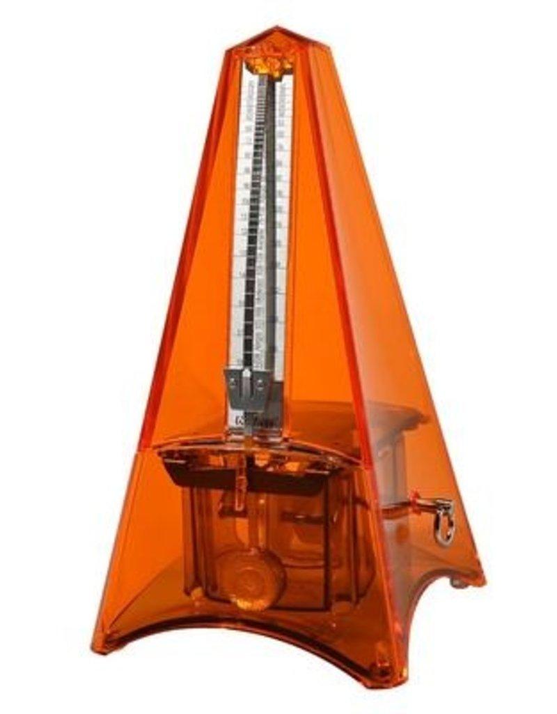 Wittner Wittner Maelzel Tower Line metronome transparent orange