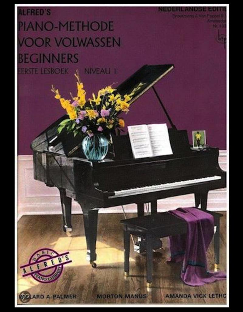 Alfred's Piano Methode 1 voor volwassen beginners