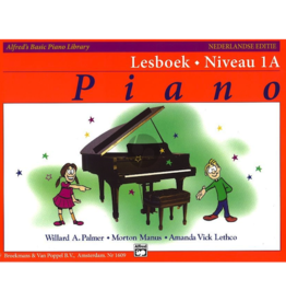Alfred's Basic Piano Lesboek Niveau 1A