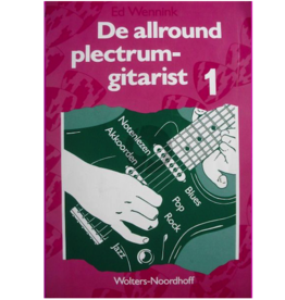 De Allround plectrum gitarist