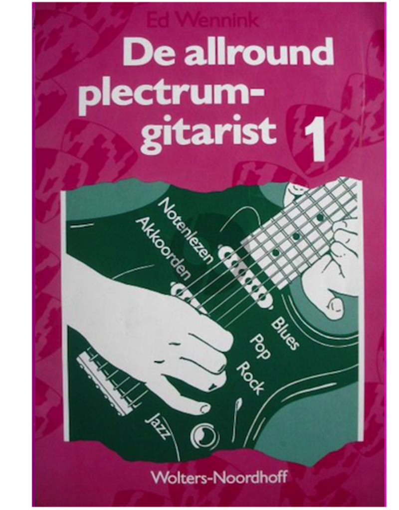 De Allround plectrum gitarist