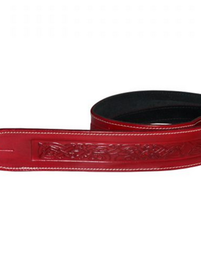 LG LG strap Celtic Embassed Red