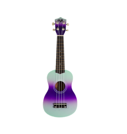 CLX CLX Ukulele purple mint