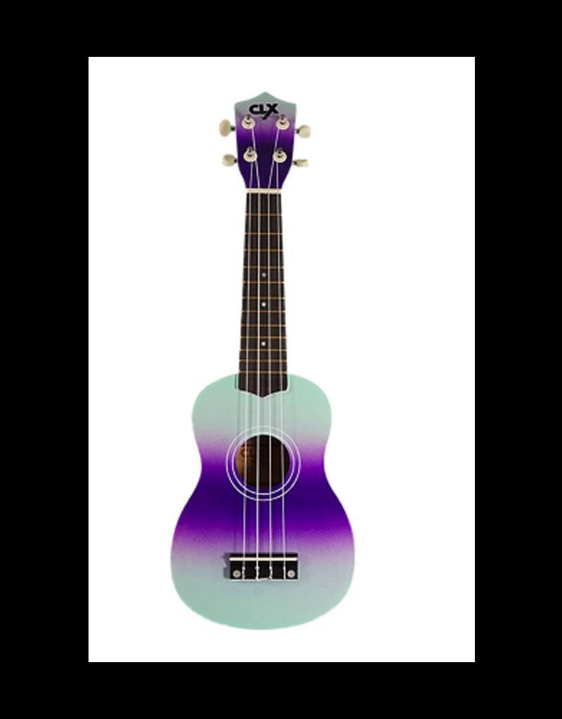 CLX CLX Ukulele purple mint