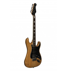 Stagg S-style Vintage Natural wood