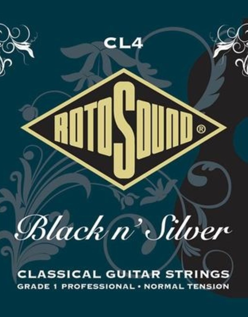 Rotosound Rotosound Black and Silver classical guitar strings
