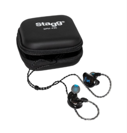 4 drivers in-ear stage monitors zwart SPM-435
