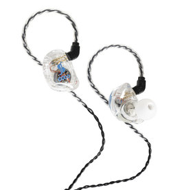 4 drivers in-ear stage monitors transparant SPM-435