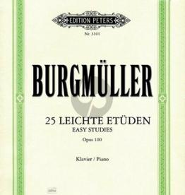 Burgmuller 25 lichte etuden