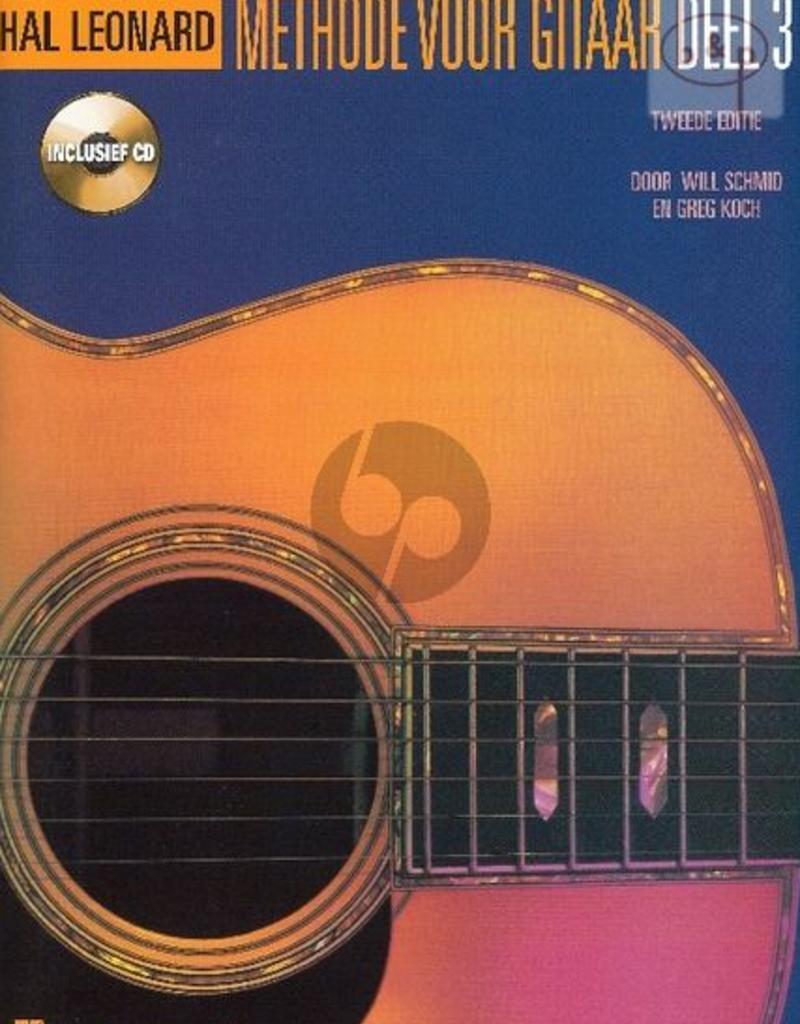 Hal Leonard Methode voor Gitaar Vol.3