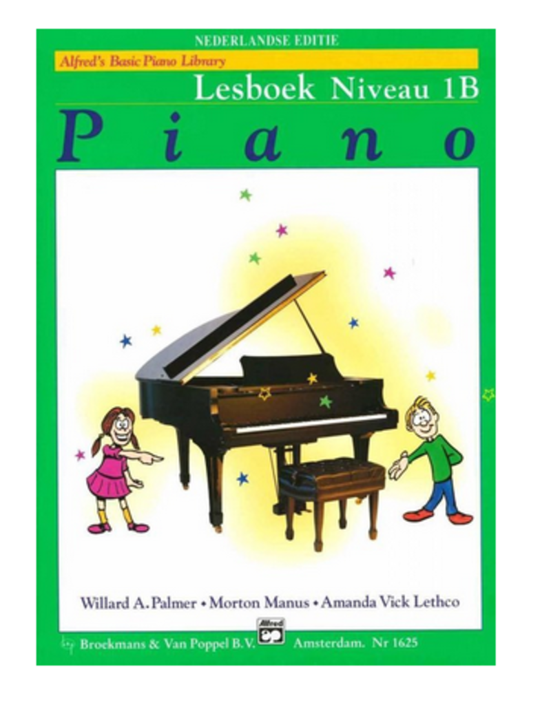 Alfred's Basic Piano lesboek 1B